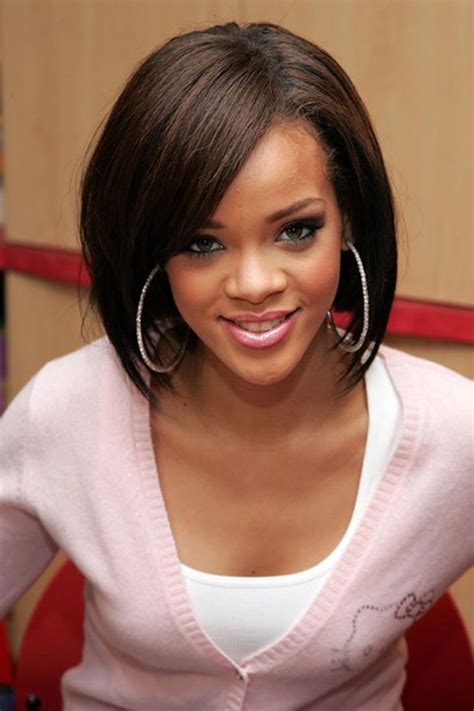 black woman bobcut hair style bob hairstyles for black women chic and trendy trendy