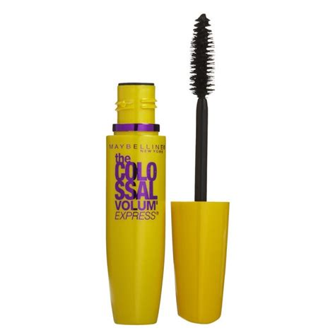 Mascara Maybeline Hitam 1 buy colossal volum express mascara 7 5 ml by maybelline priceline
