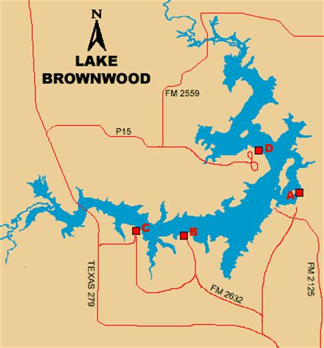 map of brownwood texas access to lake brownwood