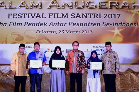 film pendek terbaik 2017 inilah para juara festival film santri 2017 gontornews