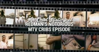 Mtv Cribs Episode inside the redman mtv cribs episode an history