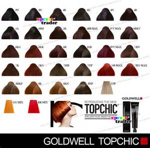 goldwell topchic color chart goldwell topchic permanent colour hair color dye 60ml ebay