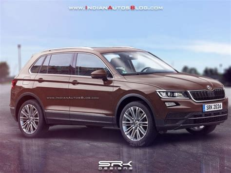 skoda yeti new model 2017 skoda yeti rendered gaadiwaadi