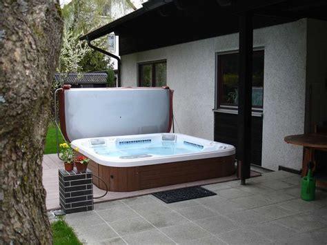 terrassen whirlpool galerie whirlpools outdoor pfahler