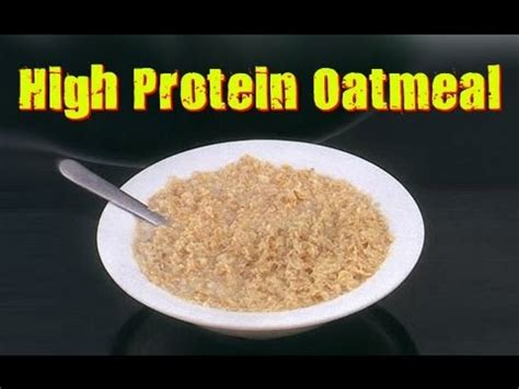 protein in oatmeal easy high protein oatmeal recipe building maker