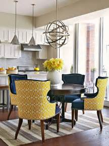 Yellow Dining Room Chairs by Bhg Centsational Style