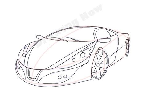 how to draw a cool car step by step cars draw cars how to draw a cool car drawingnow