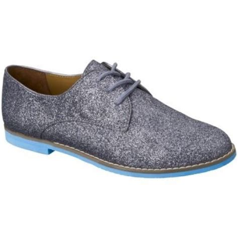 mossimo oxford shoes 80 mossimo supply co shoes grey glitter ossana