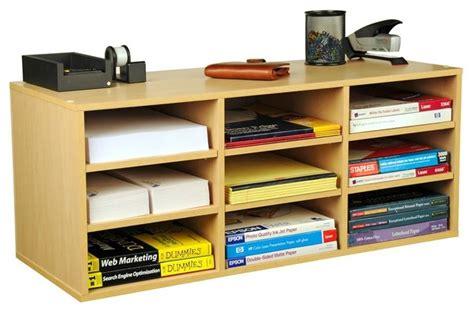 desktop supply organizer w adjustable shelves