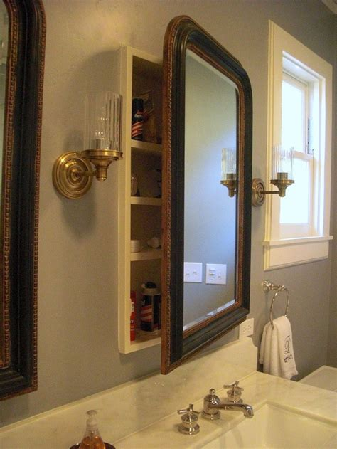Medicine Cabinet Insert by Restoration Hardware Mirror Or Any Attractive Mirror