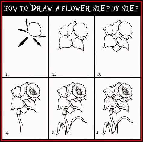 how to draw doodle flowers how to draw a flower step by step learn to draw and paint
