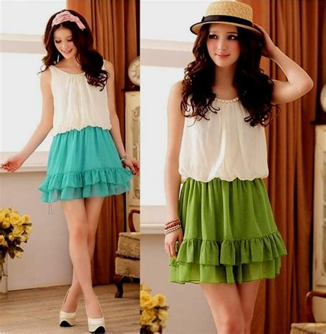 Dress Korea Dress Fashion Dress korean dresses for teenagers naf dresses