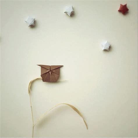 tutorial origami burung hantu bukan sekedar seni origami ini seperti benda hidup dengan
