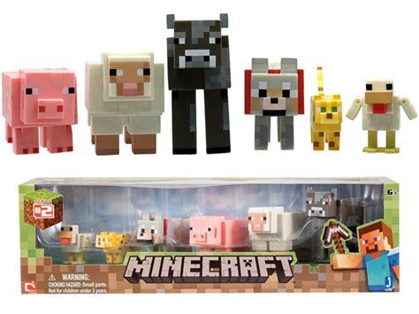 Minecraft Papercraft Target - minecraft animal 3 inch figure 6 pack