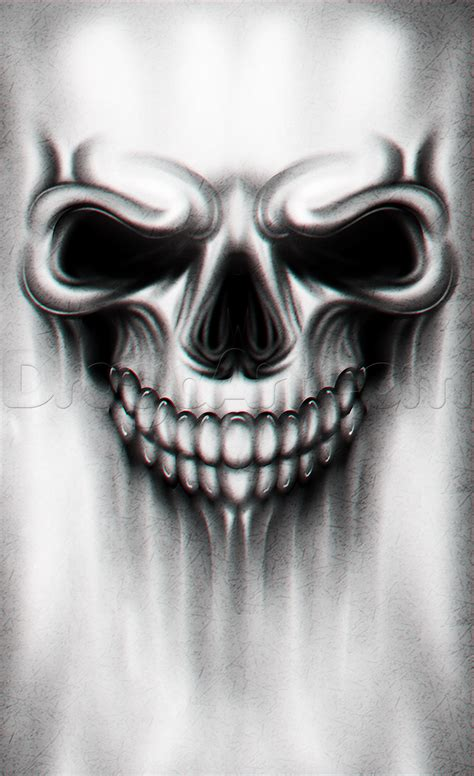 tattoo skull a skull drawing tutorial step by step tattoos