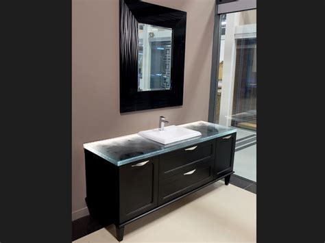 Black Glass Countertops by Glass Bathroom Countertops Bathroom Design Cbd Glass
