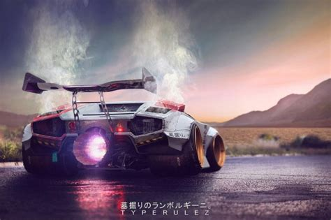 Lamborghini Jet Engine Lamborghini Countach Gravedigger The Story On Lambocars