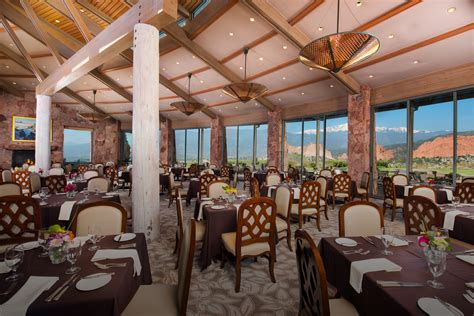 Garden Of The Gods Restaurant Grand View Dining Room Garden Of The Gods Collection