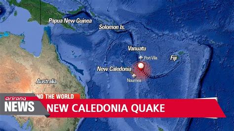 earthquake new caledonia 7 3 magnitude earthquake strikes new caledonia triggers
