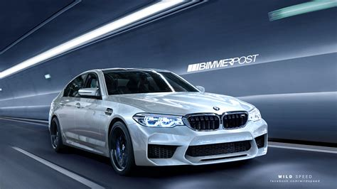 Bmw M5 New by This Is What The New 2018 Bmw M5 Will Probably Look Like