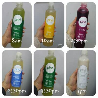 Phd Detox by Phd 3 Day Juice Cleanse Bellyrubz