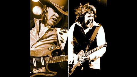 guitar battle stevie ray vaughan  gary moore youtube