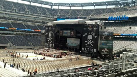 meadowlands seat view metlife stadium section 115c concert seating