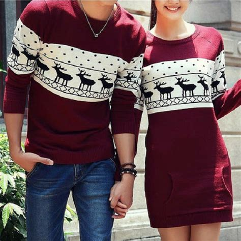 Get Matching Couples Sweaters Blouse Sweaters Dress T Shirt Dress Matching