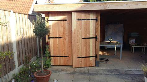 diy gartenhaus tuinhuis deuren zelf maken garden house doors diy