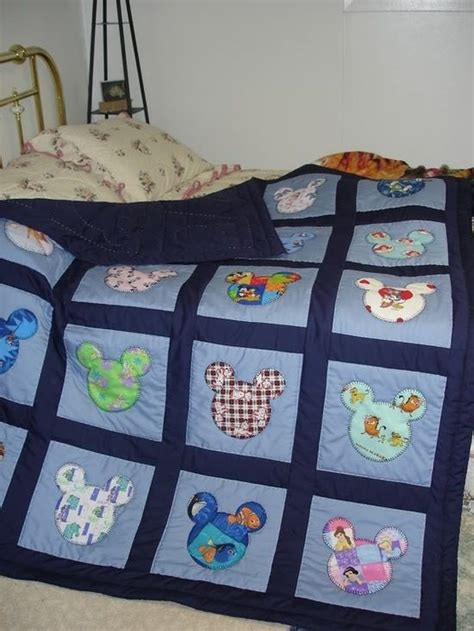 fabric crafts baby use up clothes do it yo diy disney quilt