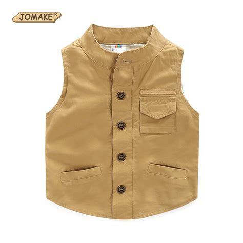 Newborn Baby Boy Waistcoat Vest Khaki Boys Vests New Fashion Brand Jackets Baby Clothes Boy Waistcoat Children