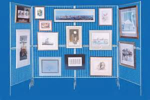 Art Display Systems by The Frugal Way To Start Showing At Art Festivals The