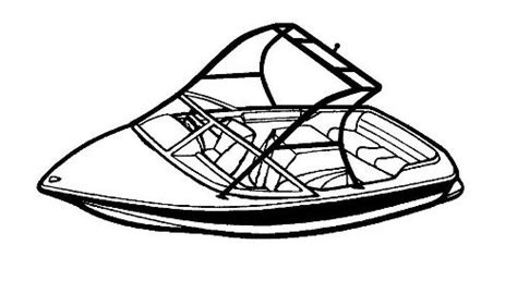 Carver Over The Tower Boat Covers Boat Cover Templates