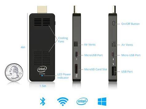 Minipc Windows 10 Stick Cd2bb computerstick mini pc runs windows 10 os gadgetsin