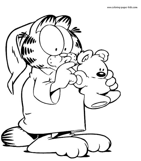 printable coloring pages garfield garfield color page color pages printable