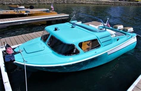 mini boat cabin vintage dorsett mini cabin cruiser cool classic boats