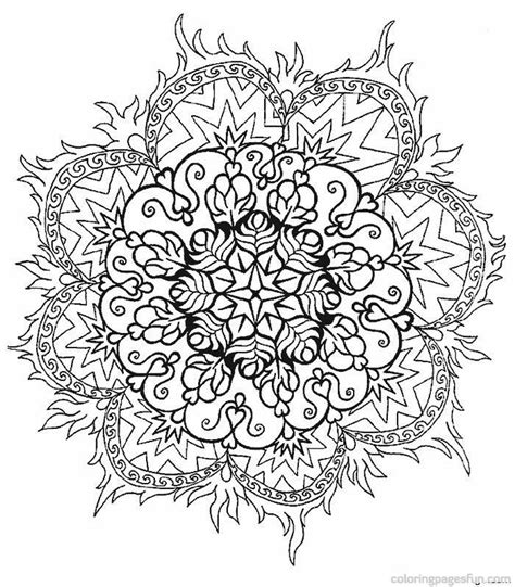 mandala coloring pages free printable adults free mandala coloring pages for adults coloring home