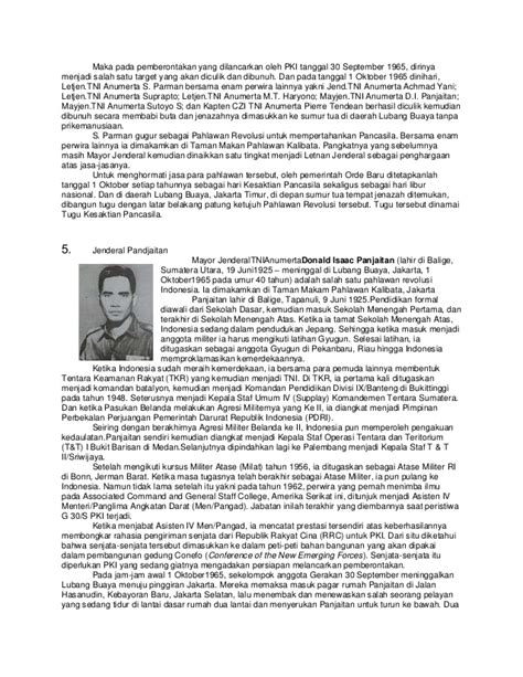 biography of di panjaitan biografi pahlawan revolusi indonesia