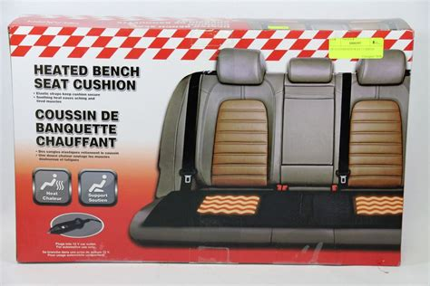 heated bench heated bench seat cushion