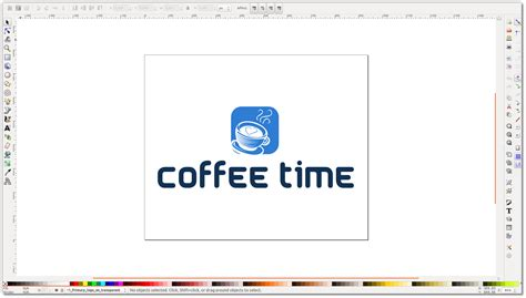 design a logo using inkscape how to change the background of logo via inscape or