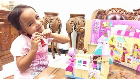 Mainan Blocks Goldkids 130 create building blocks lego duplo unboxing mainan anak jun da toys supermarket