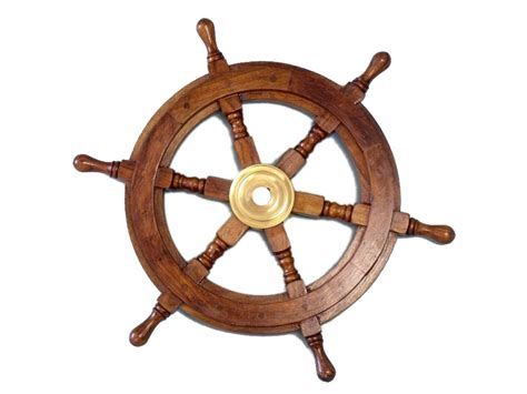 boat wheel buy deluxe class wood and brass decorative ship wheel 15