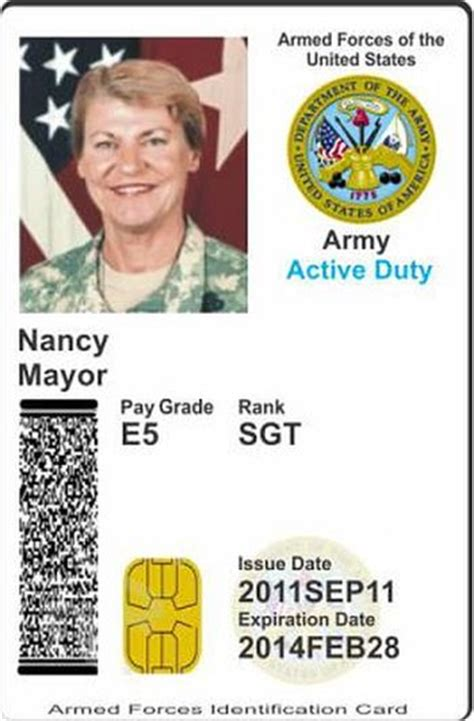 us army id card template armed forces identification card pictures to pin on