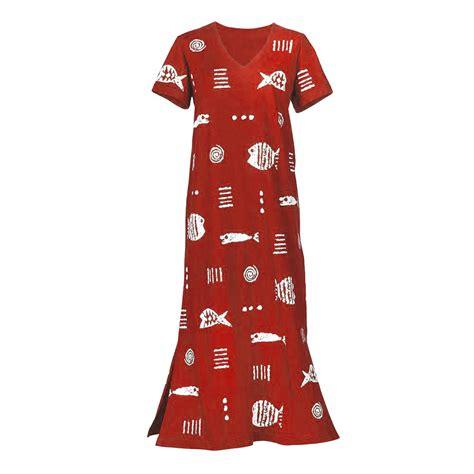 Cotton Dress S M 30285 m mac rock fish v neck cotton summer maxi dress ebay