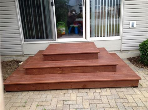patio steps  ethanv  lumberjockscom woodworking