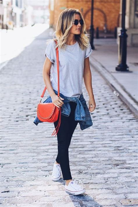 Blue Autumn Style Casual Top 20186 30 stylish fall converse for styleoholic