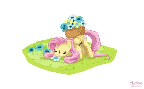 My Pony Fluttershy Flower Picking Original Hasbro image 295658 my pony friendship is magic your meme