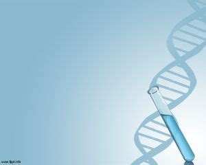 dna powerpoint template free dna template background