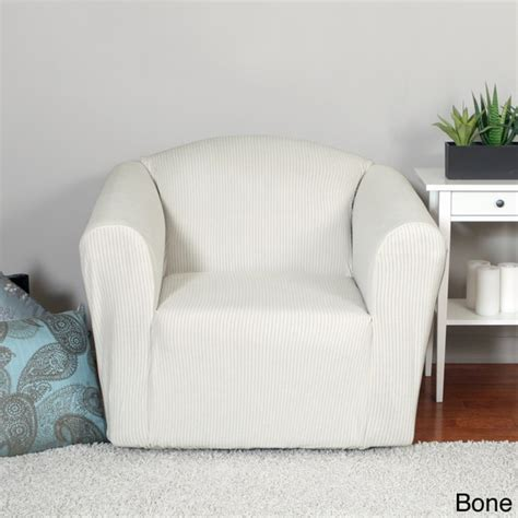 quickcover montgomery one piece chair stretch slipcover