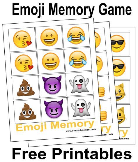 printable emoji games 10 free last minute printable stocking stuffer games